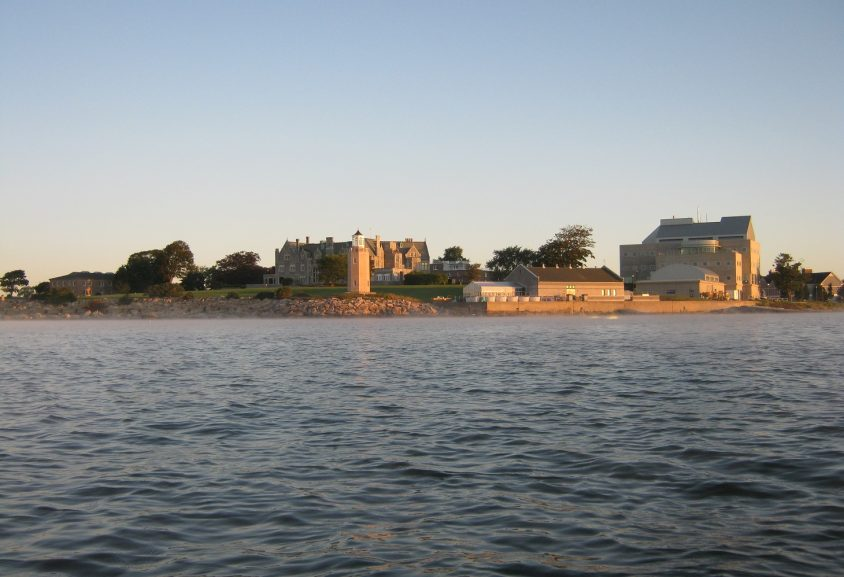 Photo of Branford House from the water